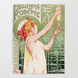 Art Nouveau Absinthe Robette Ad Poster