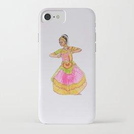 Theja's Bharathanatyam iPhone Case