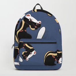 African Wildlife Poecilogale (African Weasel) Backpack