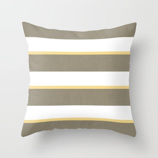 gray yellow throw pillow by juxtaurora society6