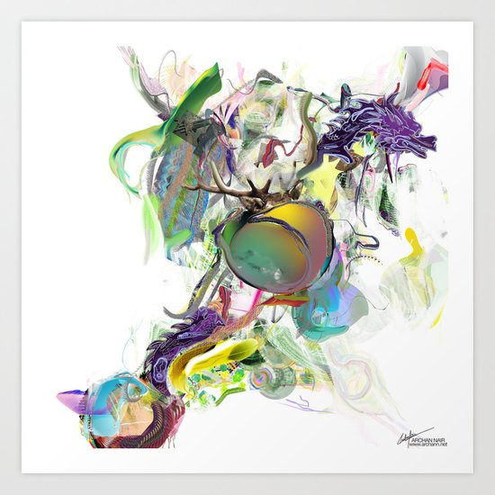 Avagauno Art Print