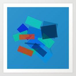 Retracting in Motion Art Print