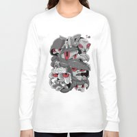 marauders Long Sleeve T-shirts featuring Midday Marauders by Chent Sanchez