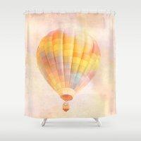 nursery Shower Curtains featuring nursery 1 by Shannyn DeArment-Howard