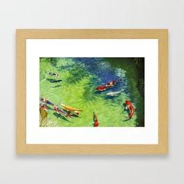 Fish watercolor IV Framed Art Print