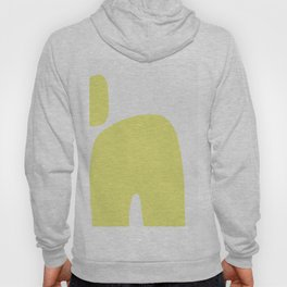 Abstract Shape Series - Yellow Arch Hoody