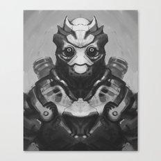 Robot Panda Canvas Print
