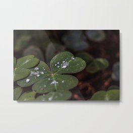 Luck has nothing to do with it. Metal Print