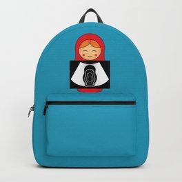 Pregnant Matryoshka Backpack