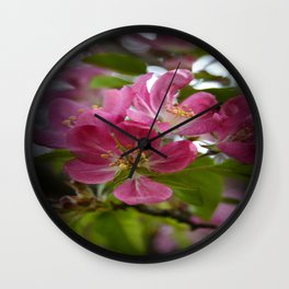 Delicately pink  Wall Clock
