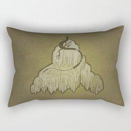 Skink + Lions Mane Rectangular Pillow