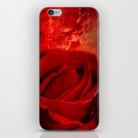 passion iPhone & iPod Skins featuring Passion by Loredana
