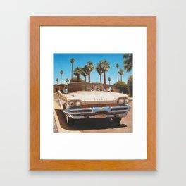 DeSoto On Street Framed Art Print