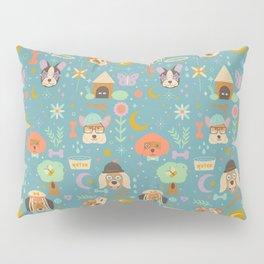 Dog World Pillow Sham