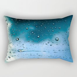 Raindrops Rectangular Pillow