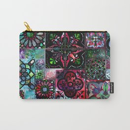 Galaxy Tile Pattern Carry-All Pouch