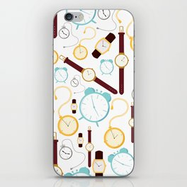 Clocks iPhone Skin