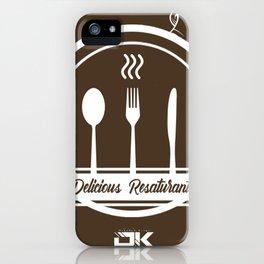 delicius restaurant iPhone Case