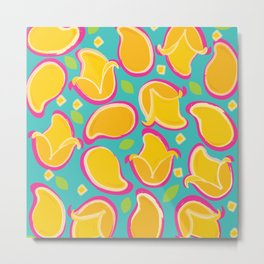 Mango Lovers Metal Print