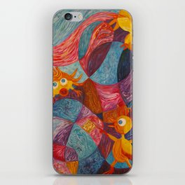 Flying Lessons iPhone Skin