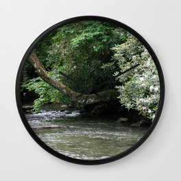 Streams of Living Water Wall Clock