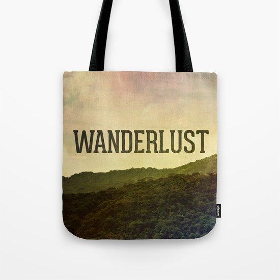 Wanderlust I Tote Bag