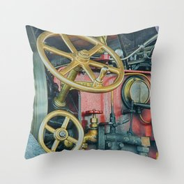Controls Throw Pillow
