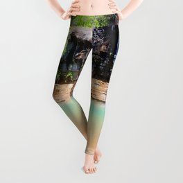 Afternoon on the River Leggings