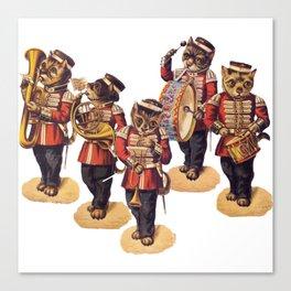 Kitty Kat Band Canvas Print