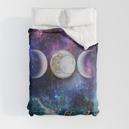 Celestial Ocean Moon Phases | Stay Wild Comforters