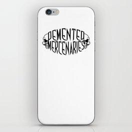 Demented Mercenaries Skull iPhone Skin