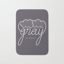 Gray/Grey Bath Mat