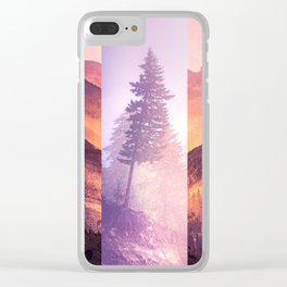 Fraction Clear iPhone Case