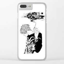 Blackthorn Clear iPhone Case