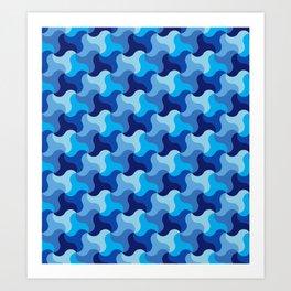 All-Blue Alhambra Art Print