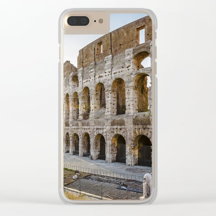 The Colosseum of Rome Clear iPhone Case