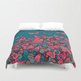 Flutterflies Duvet Cover