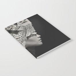 Lady with Birds(portrait) Notebook