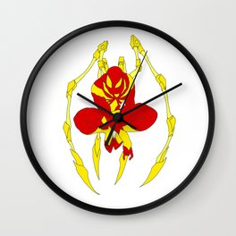 The Iron Spider Wall Clock