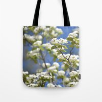 flight Tote Bags featuring Flight by Lisa Argyropoulos