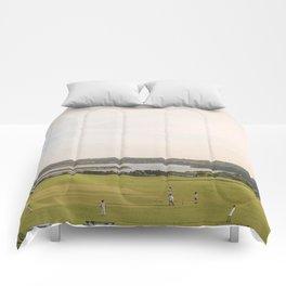 A Very English Scene. Comforters