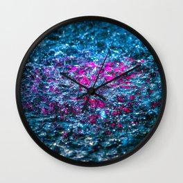 Water Color - Violet - Purple Wall Clock