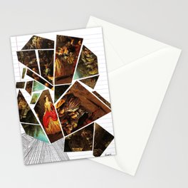 Lady's Wages Stationery Cards