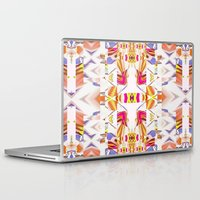 fairy tale Laptop & iPad Skins featuring Russian winter fairy tale by ARTDROID