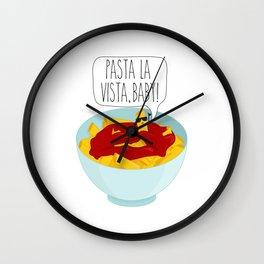 Pasta La Vista, Baby Wall Clock