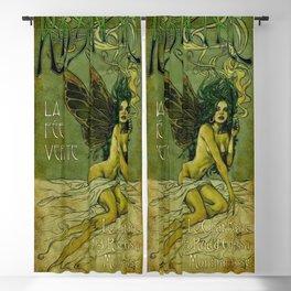 Vintage Parisian Green Fairy Absinthe Alcoholic Aperitif Advertisement Poster Blackout Curtain