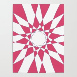 Red Crystal Poster
