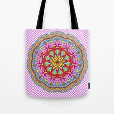 Mix&Match;  Pretty Pink Mandala Meditation pillow 02 Tote Bag