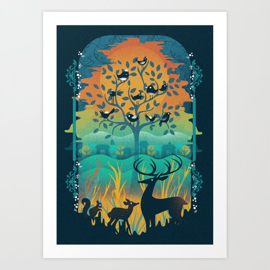 Natural Wonders Art Print