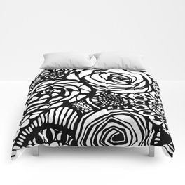 floral texture Comforters